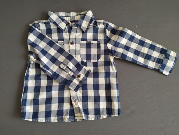 Koszula w kratę 86