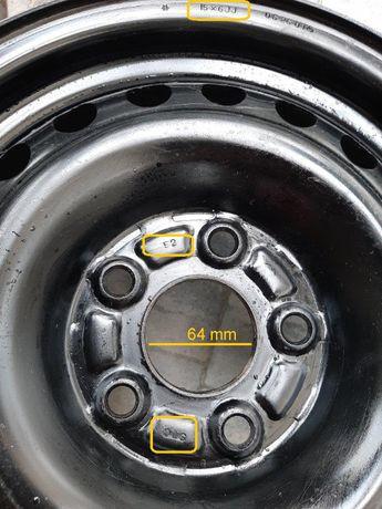 "Felgi stalowe 15"" np. Honda"