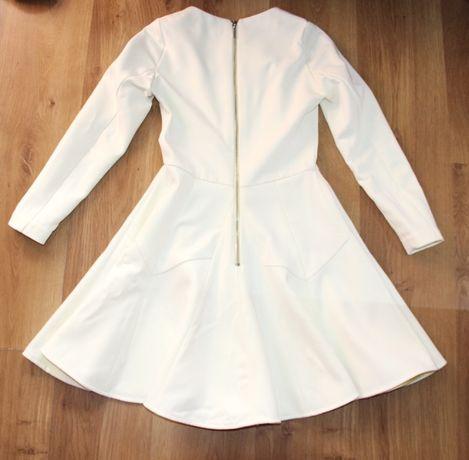 biała ecru sukienka 36 s kors medicine olimpia aryton pepe jeans solar