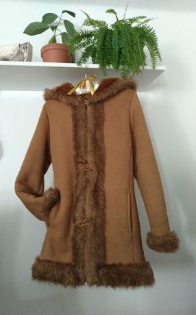 Płaszcz kożuch na zimę i śnieg Passero marka Bialcon S/M