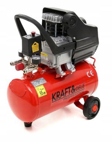 Компрессор воздушный KRAFT and DELE 24 литров 2500 Вт гарантия год
