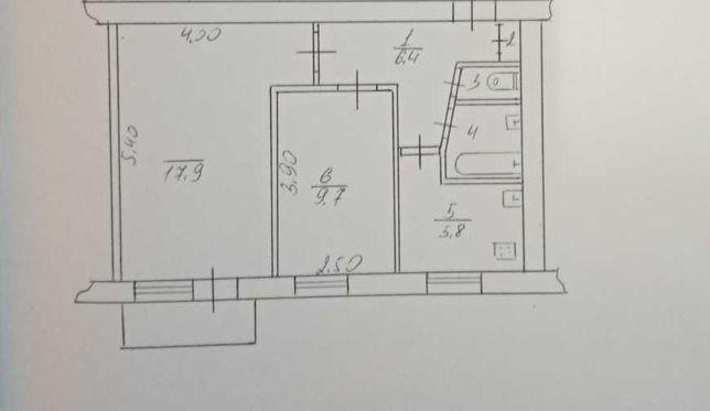 2-х комнатная квартира новые Черемушки 2/9 кирпичного дома