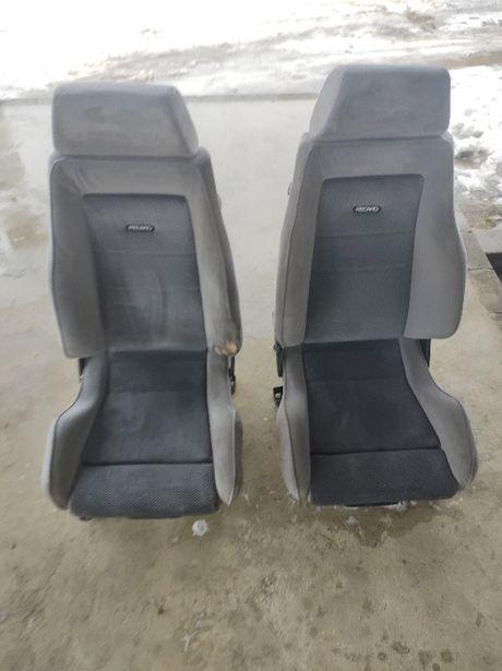 Fotele RECARO Ford Escort VW Golf 2 MK 2 RARYTAS