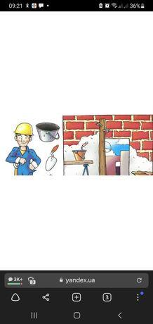 Бригада строителей выполнит отделочные работы