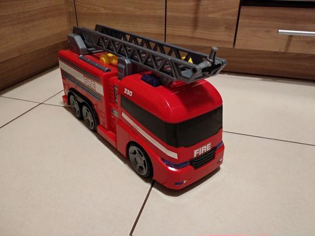 Dumel Flota Miejska Straż Pożarna, strażak, auto
