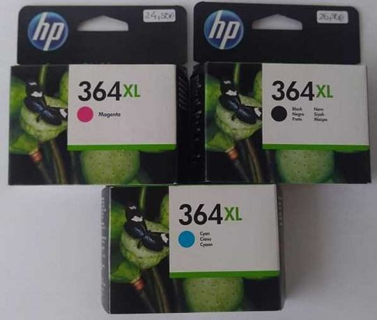 Tinteiros HP 365 Originais NOVOS