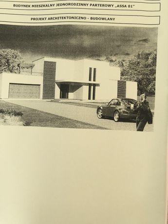 Projekt architektoniczno - budowlany domu jednorodzinnego