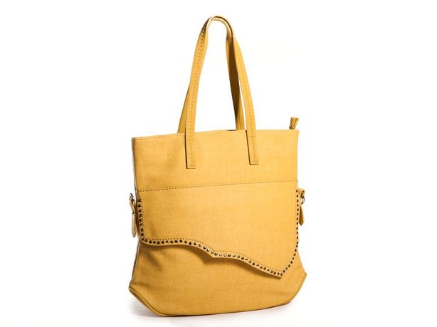 Nowa Damska Ciemnożółta torba damska