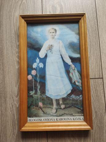 Obrazek bł. Karoliny Kózkówny z 1987 roku