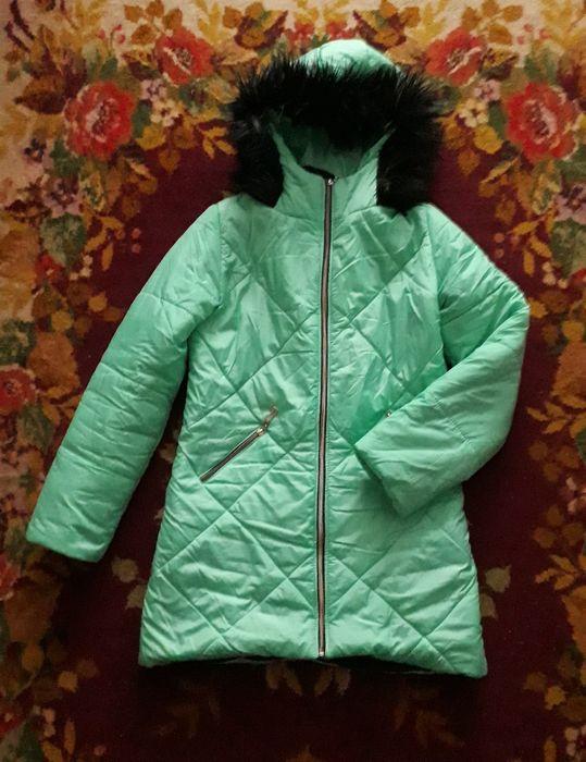 Куртка теплая с копюшоном С - М Полтава - изображение 1