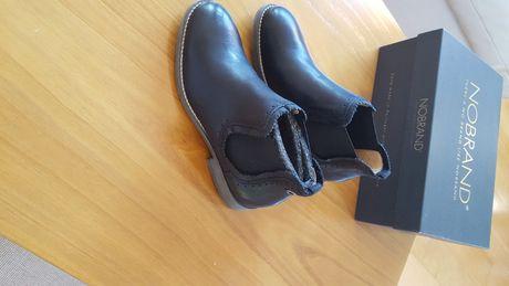 Botas Norbrand, pretas, novas, confortáveis, bom preço