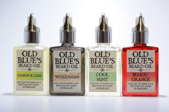 Óleo para barba Old Blue's   Handmade in England