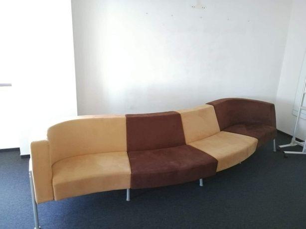 Długa sofa nierozkladana