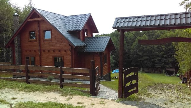 Domek u Charnasia. Dom na mazurach nad jeziorem Dadaj (100m2)