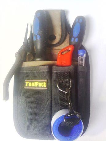 Bolsa de ferramentas para colocar a cintura Toolpack nova