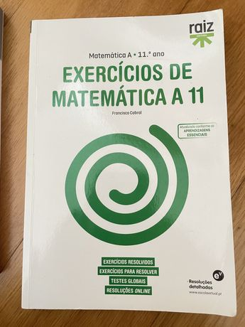 Livro NOVO de exercicios de matematica 11