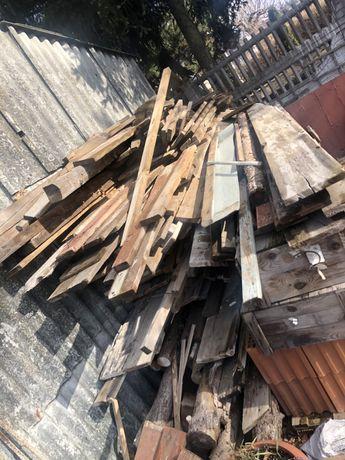 Stemple budowlane deski  gotowe blaty szalunkowe drewno na opał