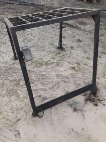 Dach wózek widłowy Rak Koła rozrusznik