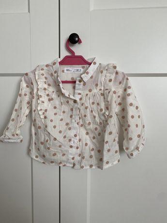Koszula zara babygirl 80