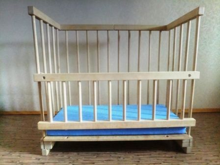 Приставная кроватка для новорожденных 40x80