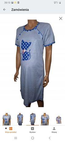 Koszula ciążowa do karmienia r XL