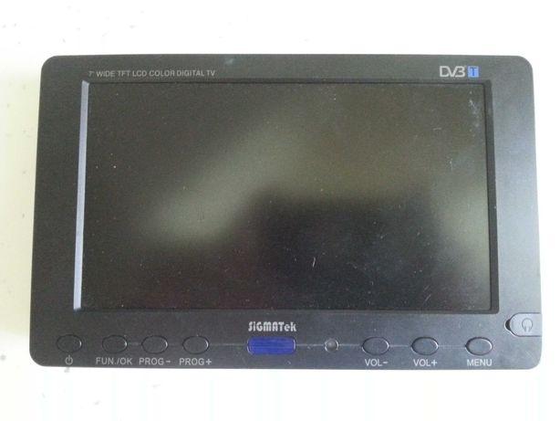 """Телевізор в салон автомо SIGMATek 7""""(довжина19×висота 12 ×товщина 2,5)"""
