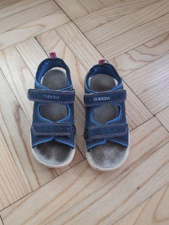 Geox sandałki rozm.28 skórzana wkładka sandały buty buciki