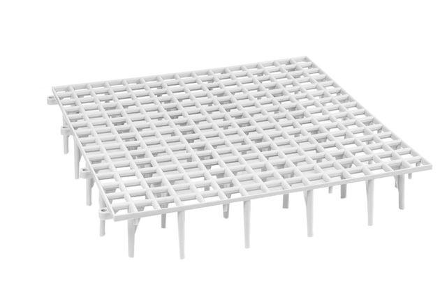Ruszt podłogowy 50x50