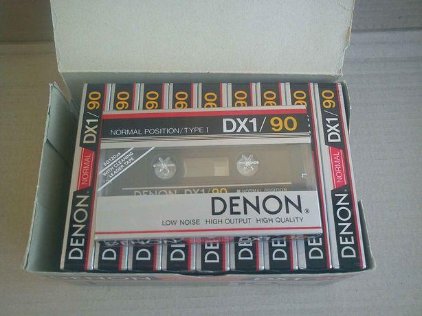 Кассеты магнитофонные DENON DX1/90 аудиокассеты