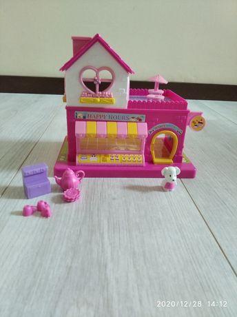 Domek z akcesoriami