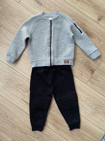River Island bluza i spodnie na chłopca 18-24m