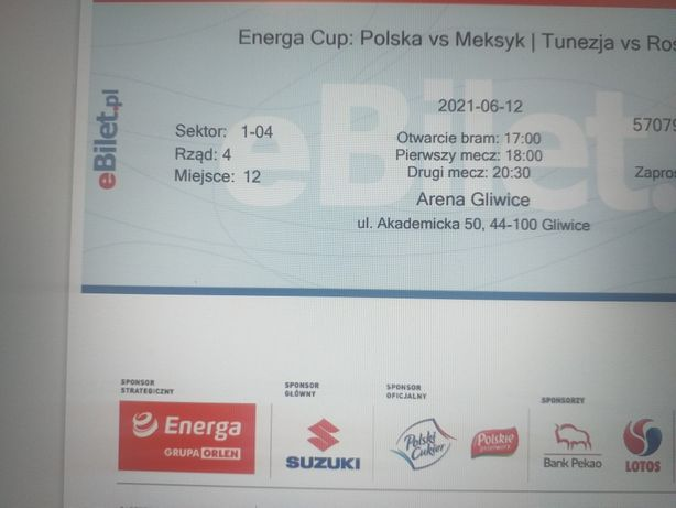 Bilety na mecz koszykówki - Arena Gliwice ENERGA CUP