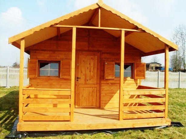 Domek,domki letniskowe,ogrodowe,drewniane,altanki,4x5m+taras2m,do 35m2