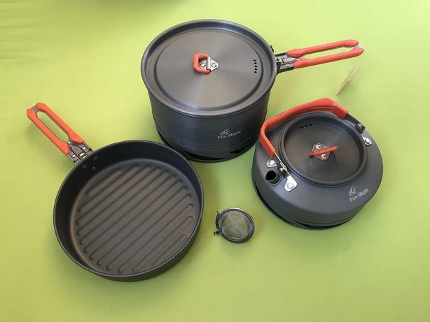 Набор посуды с теплообменником Fire-Maple FMC-FC2 (котелок, чайник)
