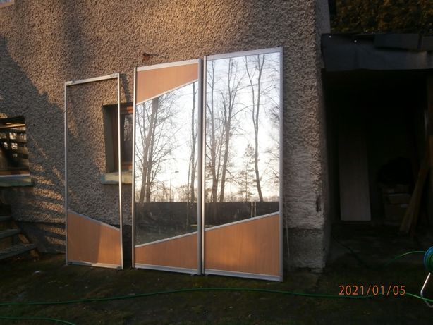 drzwi przesuwne do zabudowy szafy