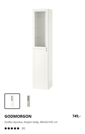 Nowa Witryna GODMORGON Ikea