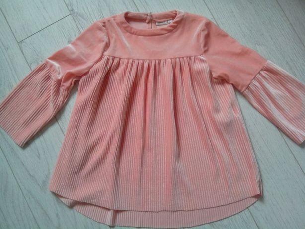 Нежное платье под бархат на девочку 4-6 лет, Name it
