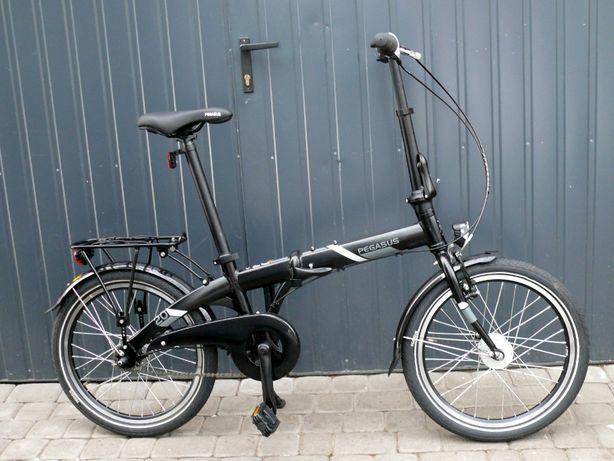 NOWY Rower składany PEGASUS D7A 7-biegów Shimano 20x2,00 składak