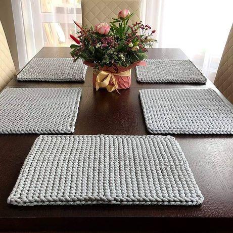 Podkładki na stół ze sznurka bawełnianego + gratis