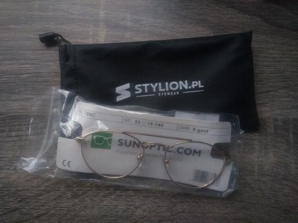 okulary korekcyjne zerówki uniseks