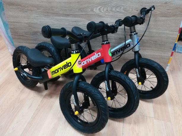 Nowy biegowy rowerek dla dzieci 2-5 lat,na grubych pompowanych kołach