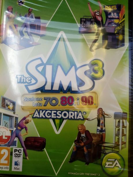 "Nowy dodatek ""Szalone Lata 70. 80. i 90."" do gry ""The Sims 3"""
