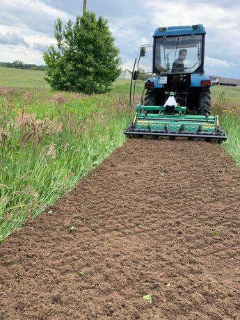 Glebogryzarka separacyjna usługi trawnik trawa