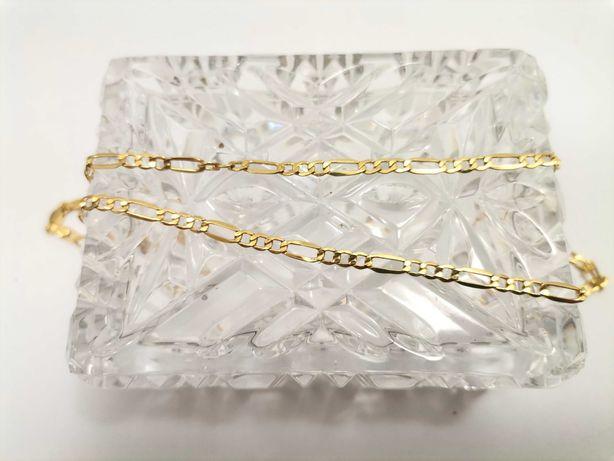 Piękny złoty łańcuszek 3,70g 585