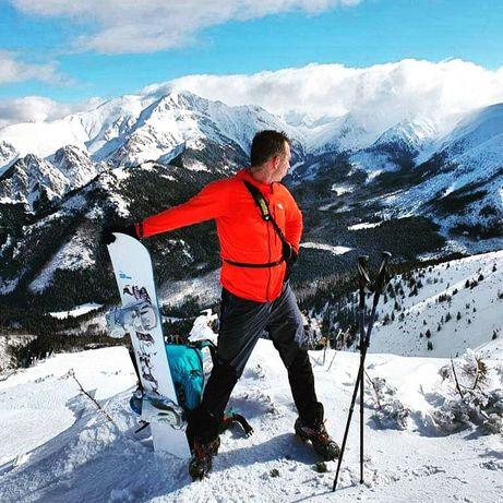 Snowboard 155 BATALEON z wiązaniami Romę Strut 42 zjazd z ceny