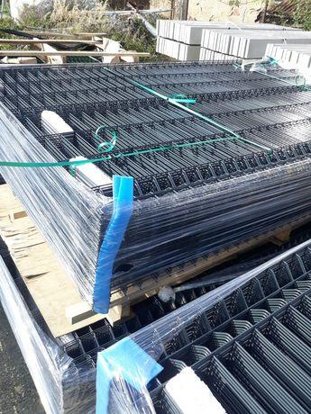 Panele ogrodzeniowe 123cm kolor