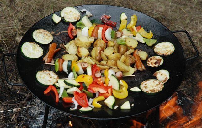 Patelnia ogrodowa-lepsza niż grill!