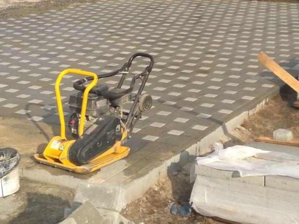Укладка тротуарної плитки (ФЕМ)