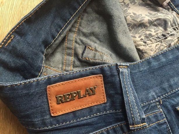 Jeansy Replay włoskiej marki/spodnie