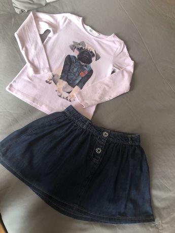 Piękny zestaw dla dziewczynki r.110/116 H&M